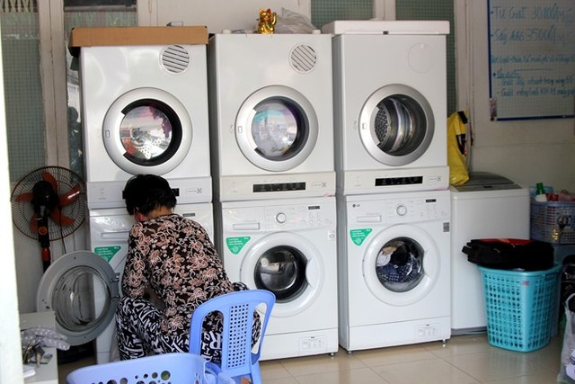 Dịch vụ giặt máy - Ủi hơi
