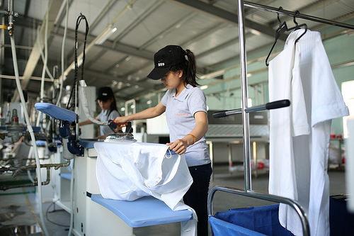 Dịch vụ giặt ủi công nghiệp tại Bình Dương